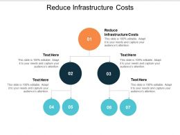 Reduce Infrastructure Costs Ppt Powerpoint Presentation File Styles Cpb