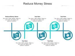 Reduce Money Stress Ppt Powerpoint Presentation Slides Example Topics Cpb
