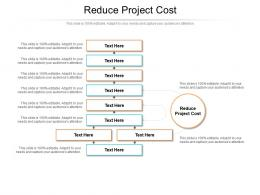 Reduce Project Cost Ppt Powerpoint Presentation Outline Rules Cpb