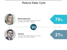 Reduce Sales Cycle Ppt Powerpoint Presentation Ideas Slide Portrait Cpb