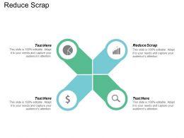 Reduce Scrap Ppt Powerpoint Presentation Icon Design Inspiration Cpb
