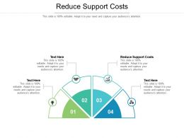 Reduce Support Costs Ppt Powerpoint Presentation Icon Graphic Images Cpb