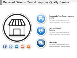 Reduced Defects Rework Improve Quality Service Discovery Process