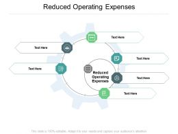 Reduced Operating Expenses Ppt Powerpoint Presentation Professional Objects Cpb
