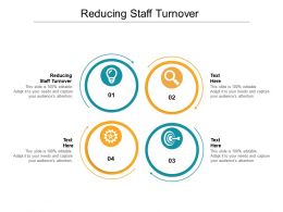 Reducing Staff Turnover Ppt Powerpoint Presentation Gallery Example Introduction Cpb