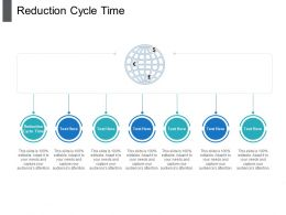 Reduction Cycle Time Ppt Powerpoint Presentation Infographic Template Designs Download Cpb