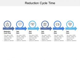 Reduction Cycle Time Ppt Powerpoint Presentation Summary Background Cpb