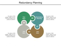 Redundancy Planning Ppt Powerpoint Presentation Model Clipart Images Cpb