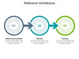 Reference Architecture Ppt Powerpoint Presentation Layouts Influencers Cpb
