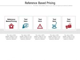 Reference Based Pricing Ppt Powerpoint Presentation Professional Slideshow Cpb