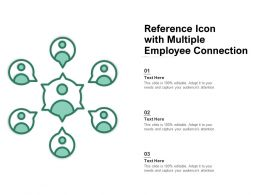 Reference Icon With Multiple Employee Connection