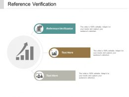 Reference Verification Ppt Powerpoint Presentation Icon Templates Cpb