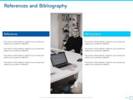 References And Bibliography Ppt Powerpoint Presentation Ideas Example Introduction