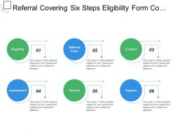 Referral Covering Six Steps Eligibility Form Contact Assessment Service And Support