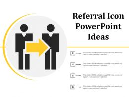 Referral Icon Powerpoint Ideas