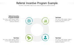 Referral Incentive Program Example Ppt Powerpoint Presentation Icon Themes Cpb