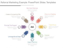 Referral Marketing Example Powerpoint Slides Templates