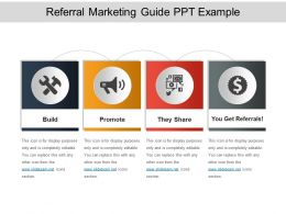 Referral Marketing Guide Ppt Example