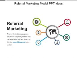 Referral Marketing Model Ppt Ideas