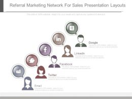 Referral Marketing Network For Sales Presentation Layouts
