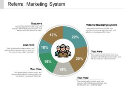 Referral Marketing System Ppt Powerpoint Presentation Icon Design Ideas Cpb