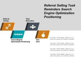 Referral Selling Task Reminders Search Engine Optimization Positioning Cpb