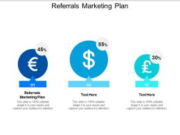 Referrals Marketing Plan Ppt Powerpoint Presentation Infographics Example Cpb