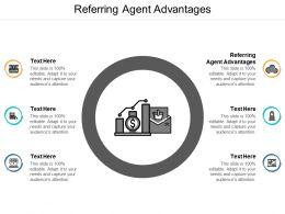 Referring Agent Advantages Ppt Powerpoint Presentation Ideas Model Cpb