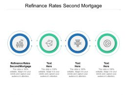 Refinance Rates Second Mortgage Ppt Powerpoint Presentation Model Cpb
