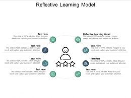 Reflective Learning Model Ppt Powerpoint Presentation File Portfolio Cpb