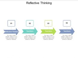Reflective Thinking Ppt Powerpoint Presentation Pictures File Formats Cpb