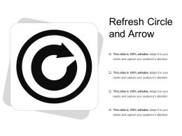 Refresh Circle And Arrow