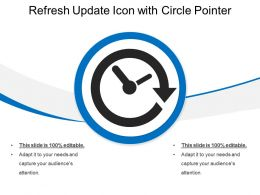 Refresh Update Icon With Circle Pointer