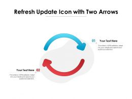 Refresh Update Icon With Two Arrows