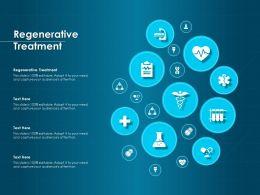 Regenerative Treatment Ppt Powerpoint Presentation File Model