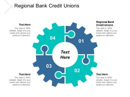 Regional Bank Credit Unions Ppt Powerpoint Presentation Icon Portfolio Cpb