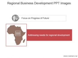 Regional Business Development Ppt Images