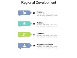 Regional Development Ppt Powerpoint Presentation File Samples Cpb