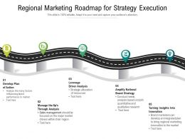 Regional Marketing Roadmap For Strategy Execution
