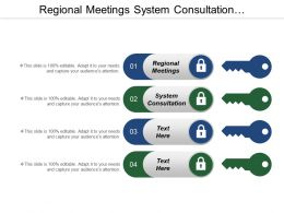 Regional Meetings System Consultation Development Agenda Application Layer