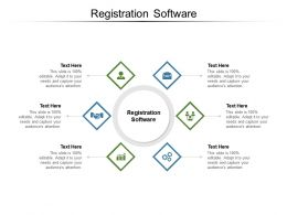 Registration Software Ppt Powerpoint Presentation Summary Examples Cpb