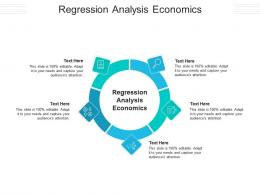 Regression Analysis Economics Ppt Powerpoint Presentation Icon Clipart Images Cpb