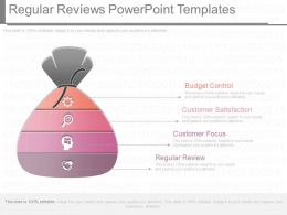 Regular Reviews Powerpoint Templates