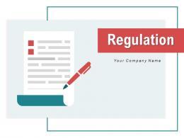 Regulation Business Organization Financial Procedure Administration