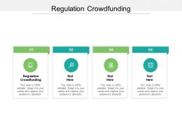 Regulation Crowdfunding Ppt Powerpoint Presentation Styles Graphic Images Cpb