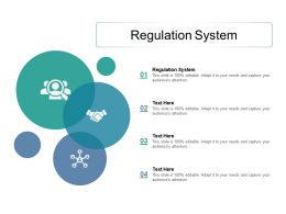 Regulation System Ppt Powerpoint Presentation Slides Picture Cpb