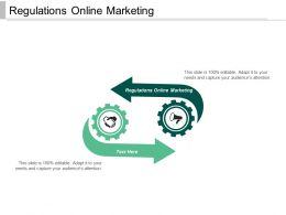 Regulations Online Marketing Ppt Powerpoint Presentation Ideas Graphics Download Cpb