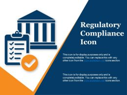 Regulatory Compliance Icon Powerpoint Shapes