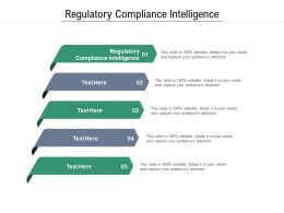 Regulatory Compliance Intelligence Ppt Powerpoint Presentation Portfolio Gallery Cpb