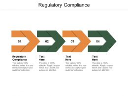 Regulatory Compliance Ppt Powerpoint Presentation Ideas Professional Cpb